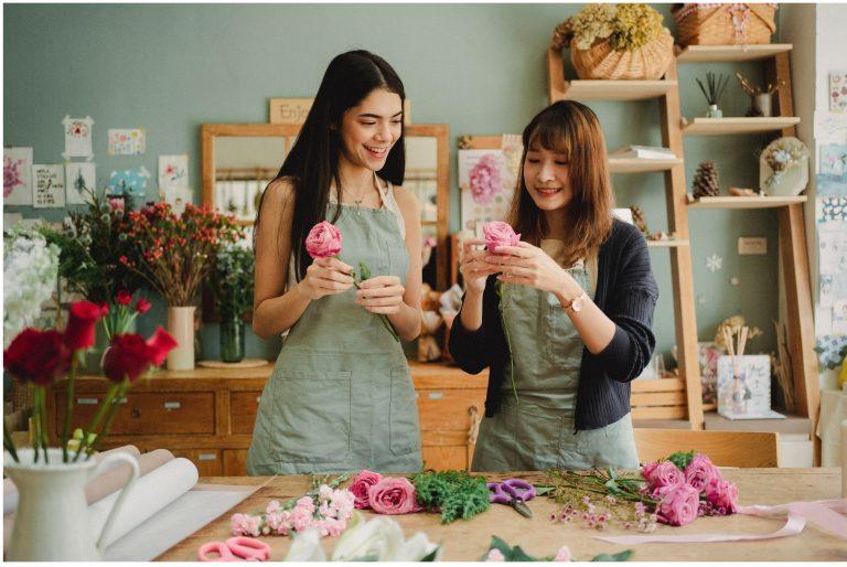 flower small business team
